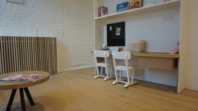 Beautiful wooden floors finished with Rubio Monocoat.