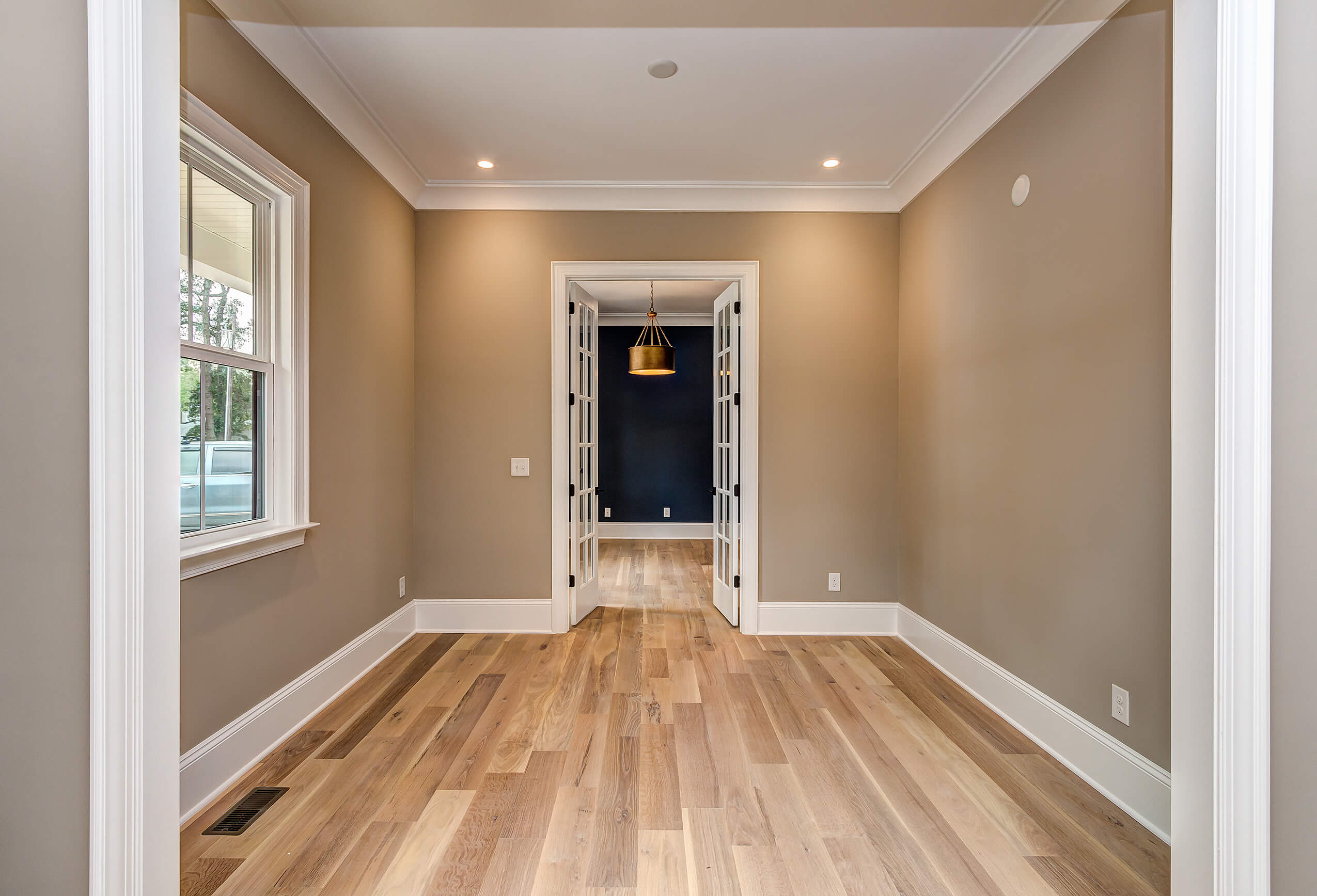 Rubio Monocoat products keep white oak floor looking natural.