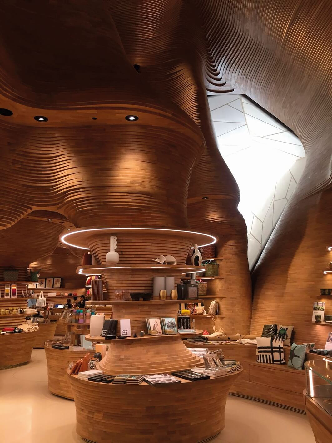 Stunning design in a museum gift shop.