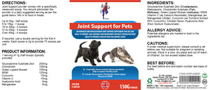 Pet joint support powder (cats/dogs) - Dr Vitz