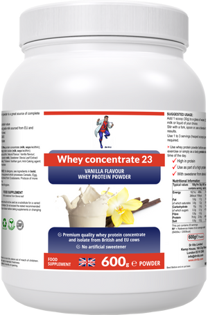 Whey concentrate 23(vanilla) - Dr Vitz
