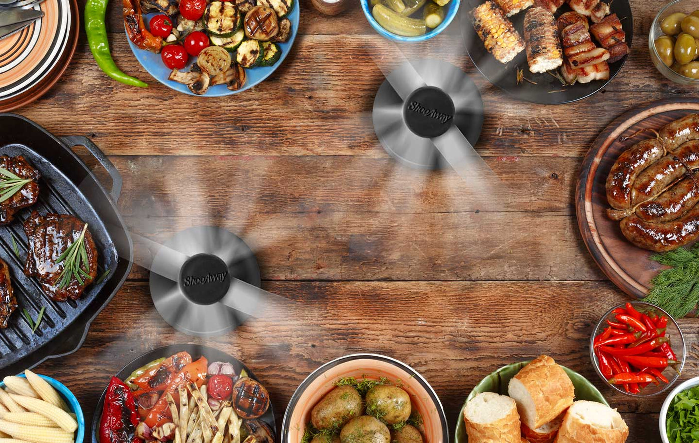 ShooAway Table Fan Keeps Flies Away