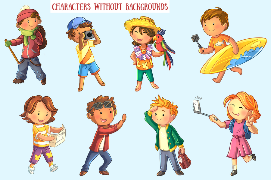Isolated Characters