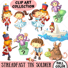 Load image into Gallery viewer, Steadfast Tin Soldier Clip Art Collection
