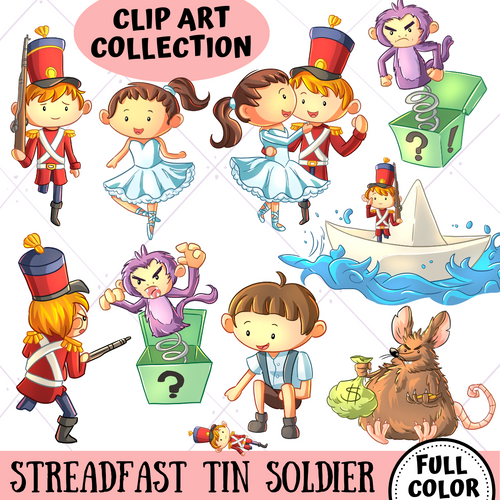 Steadfast Tin Soldier Clip Art Collection