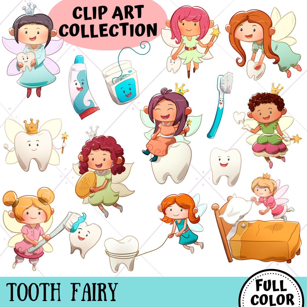 Tooth Fairy Clip Art Collection