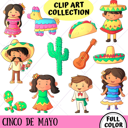 Cinco De Mayo Clip Art Collection
