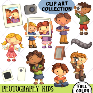 Photography Clip Art Collection
