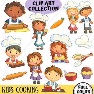 Cooking Clip Art Collection