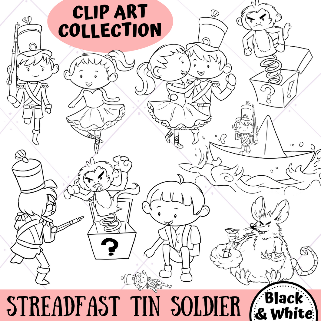 Steadfast Tin Soldier Digital Stamps