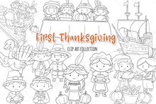 Load image into Gallery viewer, First Thanksgiving Digital Stamps