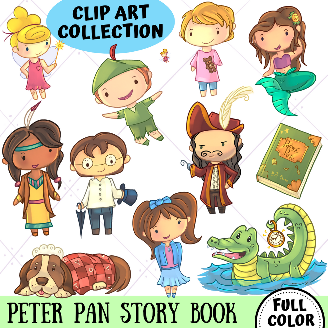 Peter Pan Clip Art Collection