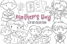 Load image into Gallery viewer, Mother's Day Digital Stamps