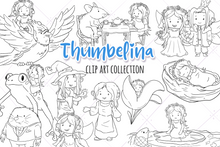 Load image into Gallery viewer, Thumbelina Digital Stamps