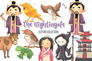 The Nightingale Clip Art Collection