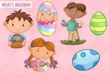 Load image into Gallery viewer, Easter Egg Hunt Clip Art Collection