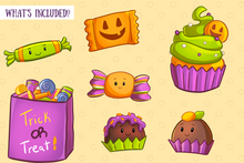 Load image into Gallery viewer, Spooky Sweets Clip Art Collection
