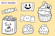 Load image into Gallery viewer, Spooky Sweets Digital Stamps
