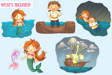 Load image into Gallery viewer, Little Mermaid Clip Art Collection