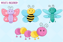 Load image into Gallery viewer, Bugs and Creepy Crawlers Clip Art Collection