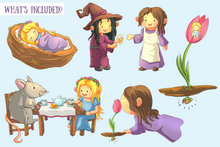Load image into Gallery viewer, Thumbelina Clip Art Collection