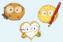 Load image into Gallery viewer, Smart Cookies Clip Art Collection
