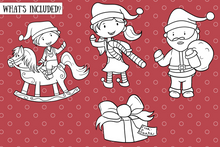Load image into Gallery viewer, Santa's Workshop Digital Stamps