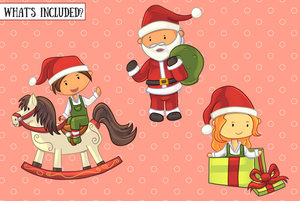 Santa's Workshop Clip Art Collection