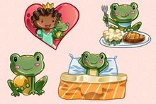 Load image into Gallery viewer, Princess and the Frog Clip Art Collection