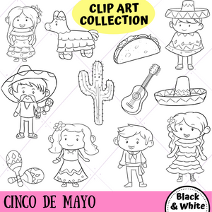 Cinco De Mayo Digital Stamps