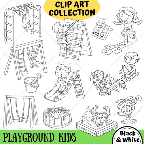 Playground Kids Digital Stamps