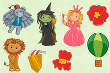 Load image into Gallery viewer, Wizard of Oz Clip Art Collection