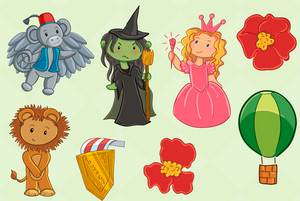 Wizard of Oz Clip Art Collection