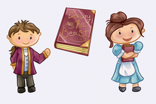 Load image into Gallery viewer, Beauty and the Beast Clip Art Collection