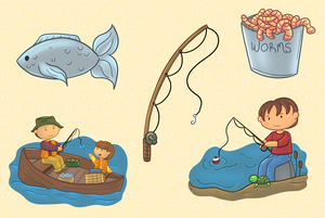 Fishing Clip Art Collection