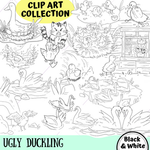 Ugly Duckling Digital Stamps