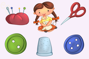 Sewing Clip Art Collection