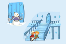 Load image into Gallery viewer, Snow Queen Clip Art Collection