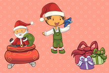 Load image into Gallery viewer, Santa's Workshop Clip Art Collection