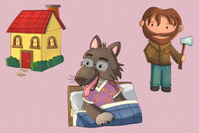 Load image into Gallery viewer, Little Red Riding Hood Clip Art Collection