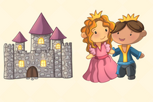 Load image into Gallery viewer, Princess and the Pea Clip Art Collection