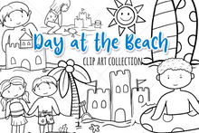 Load image into Gallery viewer, Beach Trip Digital Stamps