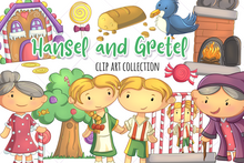 Load image into Gallery viewer, Hansel and Gretel Clip Art Collection