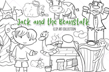 Load image into Gallery viewer, Jack and the Beanstalk Digital Stamps