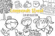 Load image into Gallery viewer, Lemonade Stand Digital Stamps