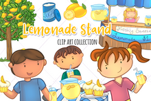 Load image into Gallery viewer, Lemonade Stand Clip Art Collection