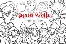 Load image into Gallery viewer, Snow White Digital Stamps