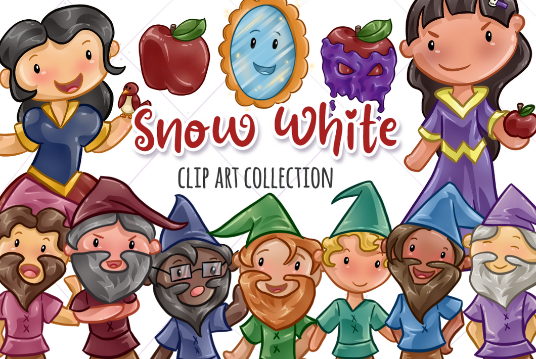 Snow White Clip Art Collection
