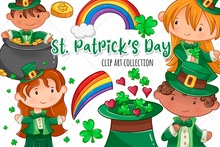 Load image into Gallery viewer, St. Patrick's Day Clip Art Collection