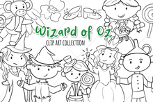Load image into Gallery viewer, Wizard of Oz Digital Stamps
